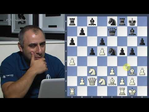 PRO Chess League 2017: Akobian vs. Sebastian Mihajlov - GM Varuzhan Akobian