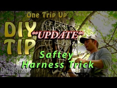 safety harness hook up