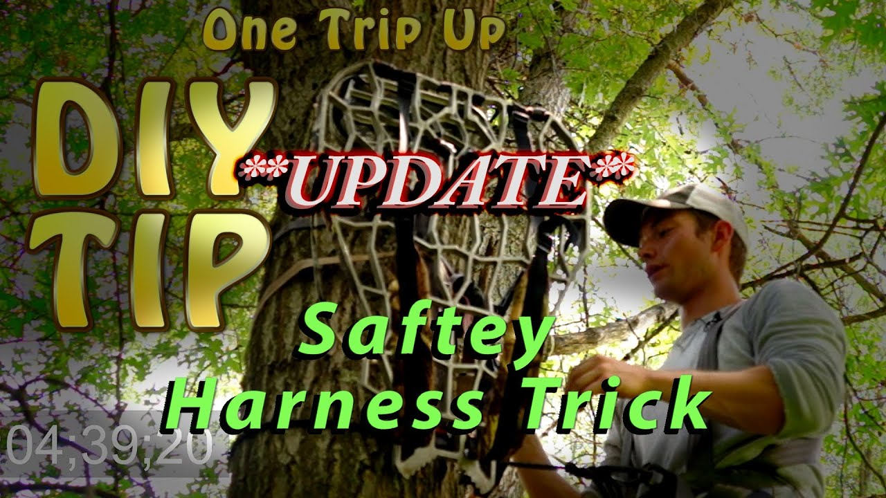 Hanging Tree Stands Safety Harness Trick Youtube