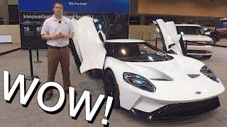 2017 Ford GT - Exclusive Walkaround!  Interior, Exterior, Exhaust, Startup!