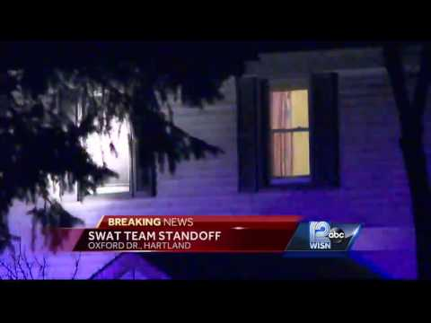 Hours long standoff puts Hartland neighborhood on lockdown