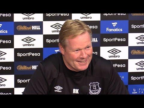 Ronald Koeman Full Pre-Match Press Conference - Manchester United v Everton - Premier League