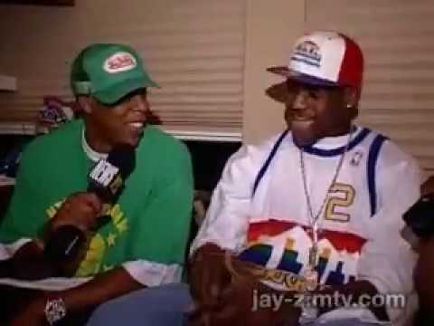 Jay-Z and Lebron James - Rocking The Bus (Roc The Mic Tour) - 2003