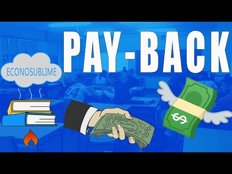 4. El Pay-back o plazo de recuperación
