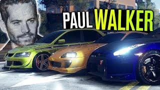 Paul Walker Cars BROKE Need for Speed 2015!