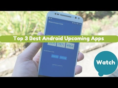 Top 3 Awesome Upcoming Apps for Android December 2016