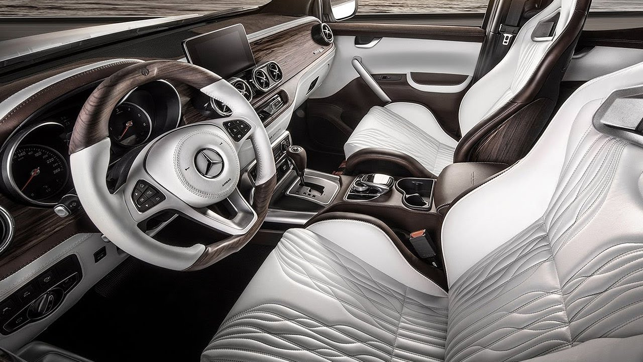Download 2021 Mercedes X-Class - INTERIOR | Perfect Luxury Pickup Truck !