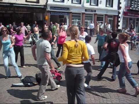 Rueda Flash mob in Keswick, UK