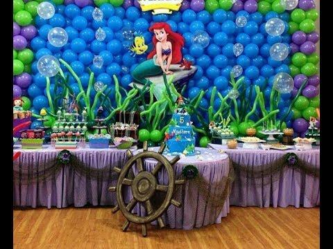 Fiesta De La Sirenita Ariel2017partymesa De Dulcesdecoracionideas Festa Da Pequena Sereia