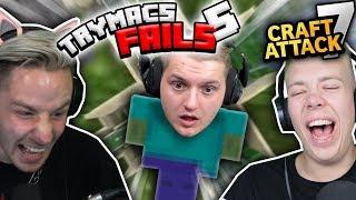 So DUMM ist kein MINECRAFT SPIELER.. TRYMACS Minecraft Fails. Nicht LACHEN!