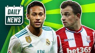 Neymar nicht zu Real! Shaqiri zu Klopp! Mario Mandzukic zum BVB? Was wird aus Pavard?