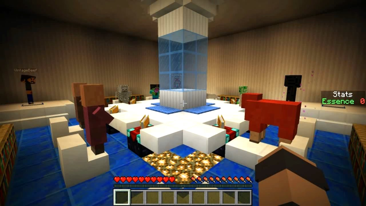 Best Minecraft Maps for More Adventure and Fun - Honeydogs on the disease map, the drifter map, the glass map,