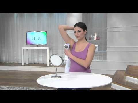 Tria Beauty 4X Laser Hair Removal Device for Face & Body with Sandra Bennett