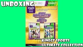 Unboxing  do jogo Kinect Sports ultimate collection - PT BR