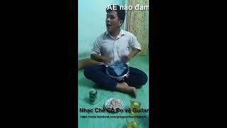 Nhạc Chế Gõ Po và Guitar - Hai Mùa Mưa ( Xuân Hải Po )