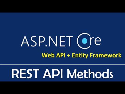 ASP.NET Web API + Entity Framework Core : REST API Methods - EP03
