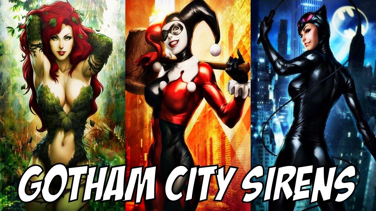The Cheetah Girls As Wallpaper Gotham City Sirens │ Comic History Youtube