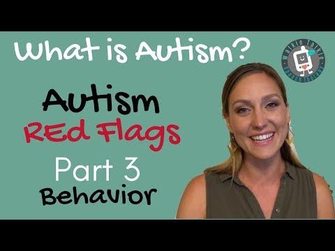 Autism Red Flags Part 3 Behavior