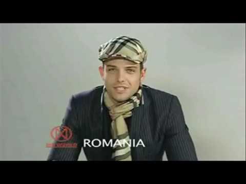 Voicu Panzar ( Ricky de Romania ) Mister World Men Romanian Boys