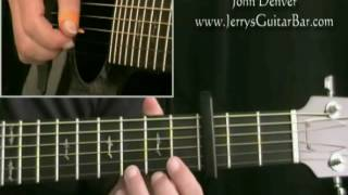 How To Play John Denver Today (intro only)