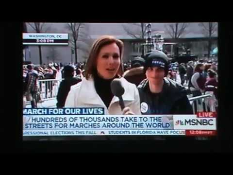 CMGUS PRODUCTIONS: POST NEWS COVERAGE MARCH FOR OUR LIVES WASHINGTON DC 24 MARCH 2018