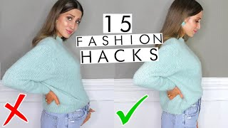 15 Game Changing Fashion Hacks You're Missing in Your Life!