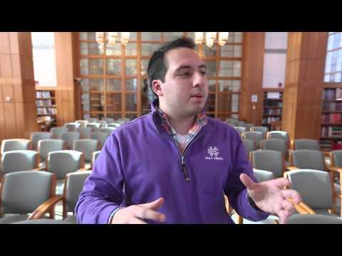 College of the Holy Cross Student Profile: Oswaldo Subillaga '16