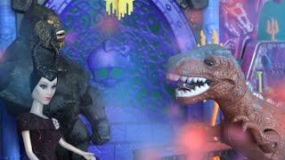 Барби Продолжение серии про Лунтика, Малефисента превращает Военного в Динозавра, Мультфильмы 2016