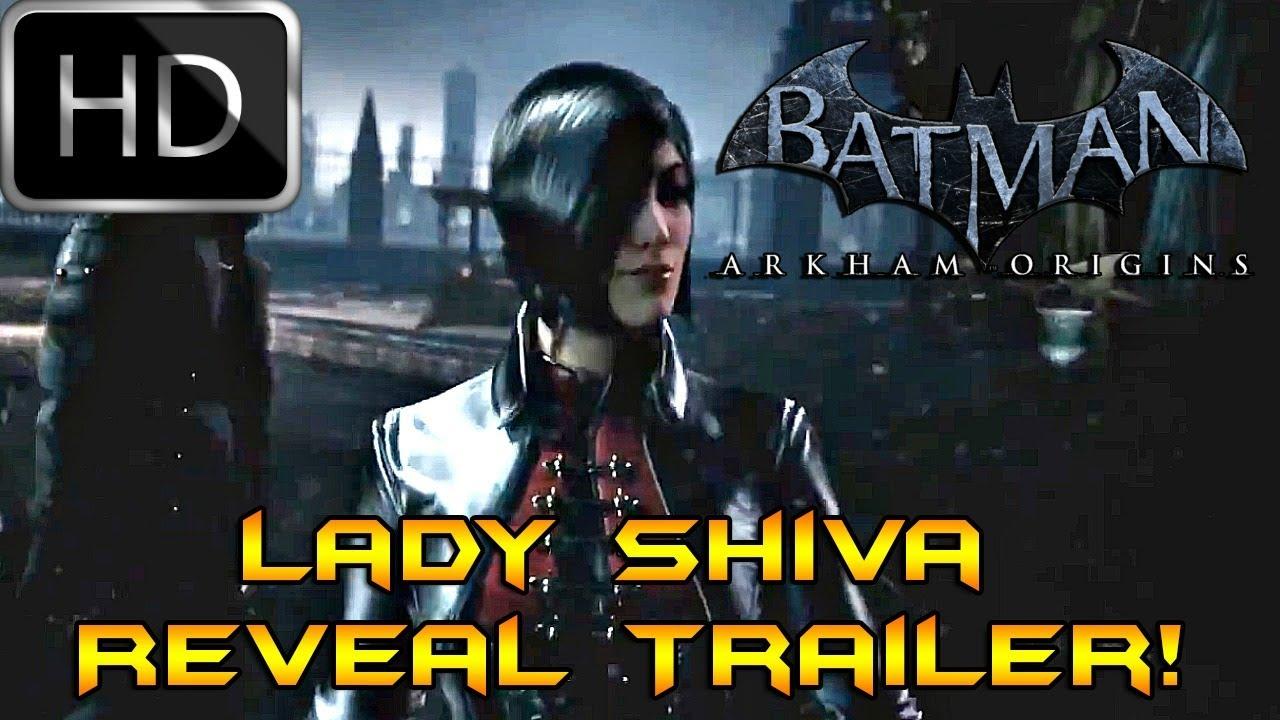 Batman Arkham Origins: Lady Shiva Reveal Trailer! HD