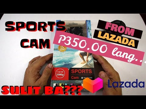 ACTION CAM FROM LAZADA 1080P NGA BA?