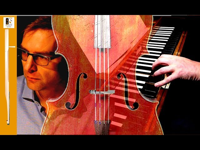 Bach Cello Suite No. 1 - Clavichord - Left Hand Only - Wim Winters