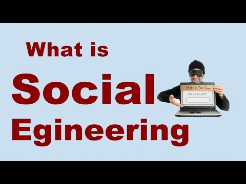 What is Social Engineering ? |  Psychological manipulation on the internet (In Hindi)