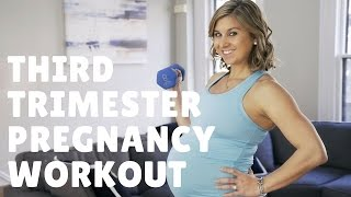 FIT MOM   Third Trimester Prenatal Workout, Strength Training