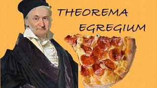 披薩的曲率與絕妙定理 - The Remarkable Way We Eat Pizza by Numberphile(中文字幕)