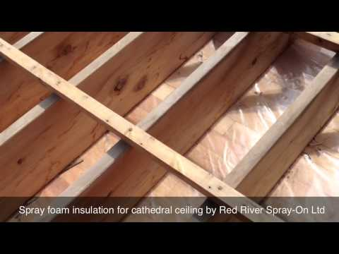 how we insulate a cathedral ceiling winnipeg