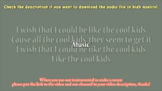 Echosmith - Cool Kids (Acoustic Instrumental) Karaoke
