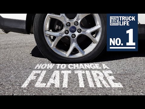 How to Change a Tire   Truck Life   Ford