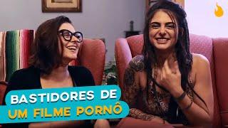 PASSA A BOLA COM MAY MEDEIROS E BASTIDORES DE UM FILME PORNÔ