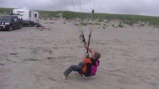 """Как научиться летать на параплане. Тренировка - """"наземка"""""""