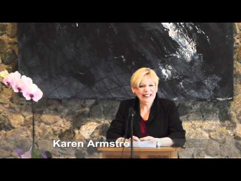 Compassion and Religion - Karen Armstrong @ Vancouver School of Theology - Part 1 of 3