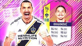 CLASSIC EUROPEAN HERO IBRAHIMOVIC 96! TOTY IBRAHIMOVIC! FIFA 18 ULTIMATE TEAM