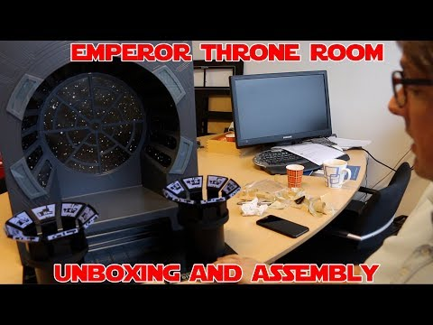 UNBOXING AND ASSEMBLY of Truscale Emperor Throne Room