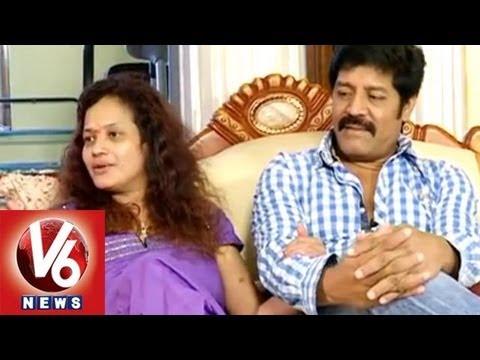 Real Star Srihari and Disco Shanti in Life mates | V6 News