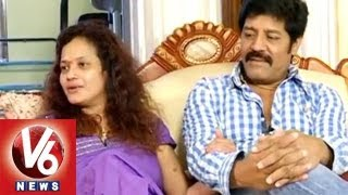 Real Star Sri Hari Reveals About Their Love With Disco Shanti  || Life Mates || V6 News