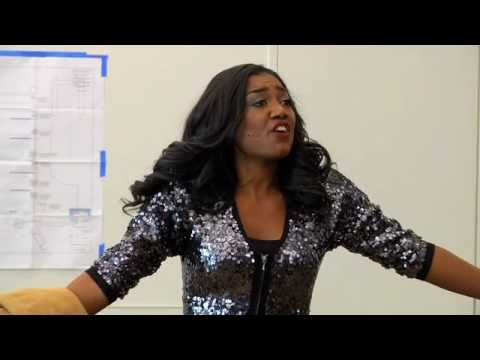 """In Rehearsal: Patina Miller Sings """"Fabulous, Baby!"""" from Broadway's """"Sister Act"""" Musical"""