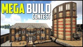 ARK MEGA-BUILD CONTEST! - Ark Survival Evolved INSANE Base Designs!