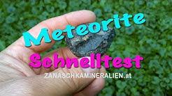 Meteorite selber prüfen - Meteorit Test