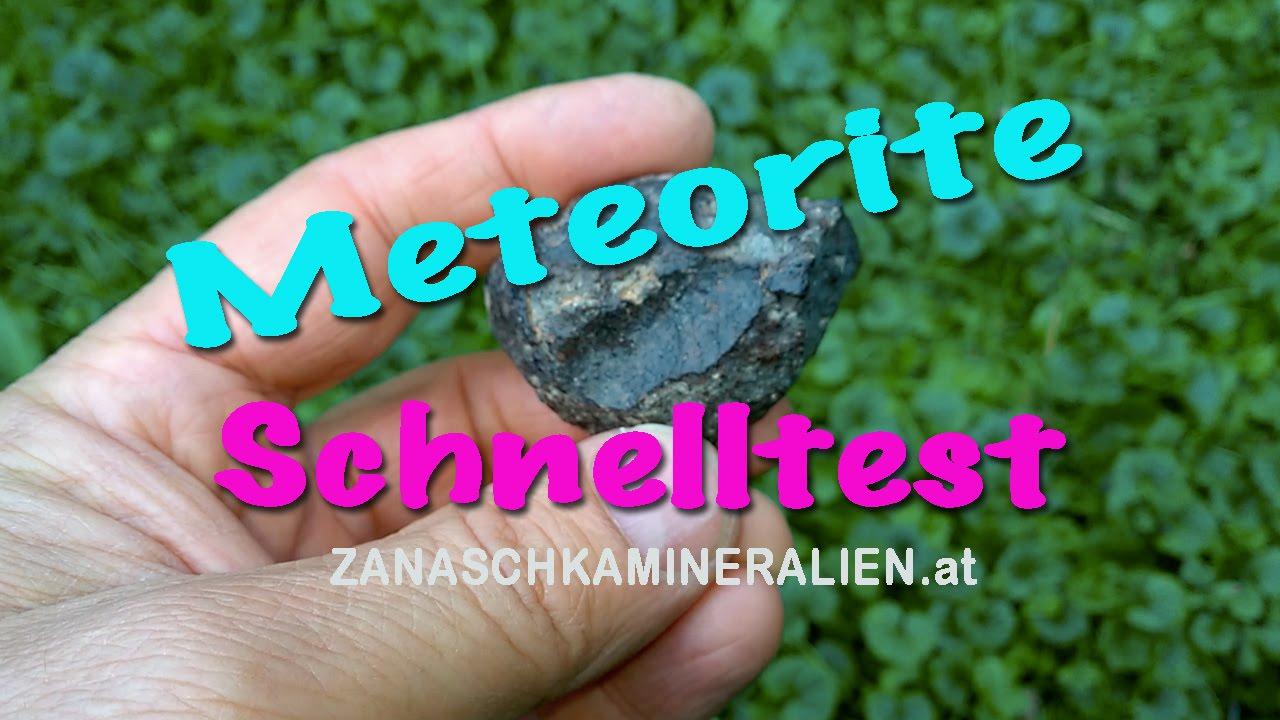 meteorite selber pr fen meteorit test youtube. Black Bedroom Furniture Sets. Home Design Ideas