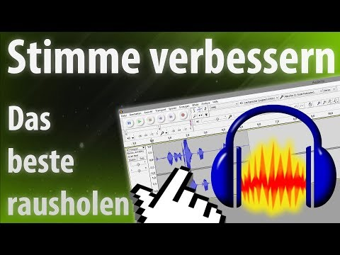 Audacity Stimme verbessern [Let's Play, Rap, Singen] - Tutorial 2018 German