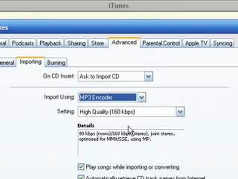how to add mp3 files to itunes